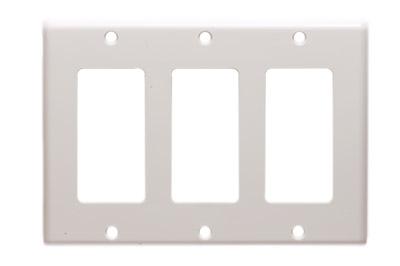 decora wall plates nylon icc decora wall plate triple gang plates showmecablescom