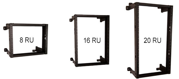 enclosures mount dwm wall amco rack